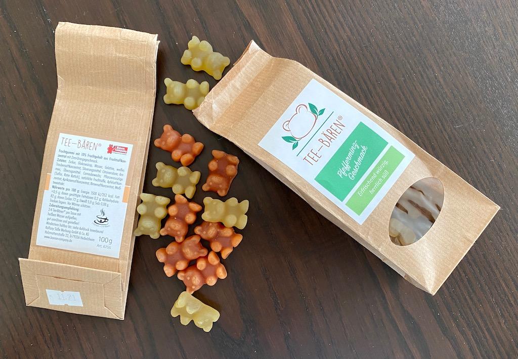 Bären-Company Tee-Bären Pfefferminzgeschmack 100G