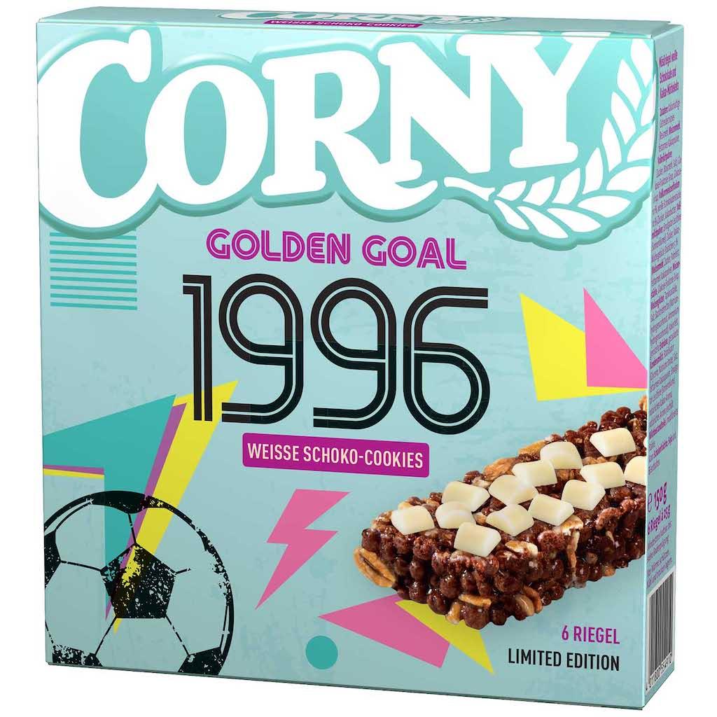 Schwartau Corny Weisse Schoko-Cookies 6×23 Gramm