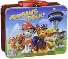 Lunchbox aus Blech mit dem Motiv Paw Patrol, gefüllt mit 60 Gramm Marshmallows.