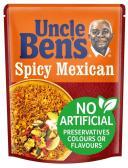 Mars Uncle Ben's Spicy Mexican Rice, alte Verpackung, 250 Gramm