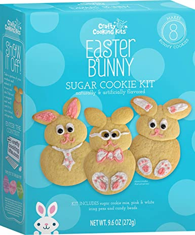Crafty Cooking Kits Easter Bunny Sugar Cookie Kit 277G Ostern