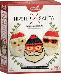 Crafty Cooking Kits Hipster Santa Cookie Backmischung Weihnachten