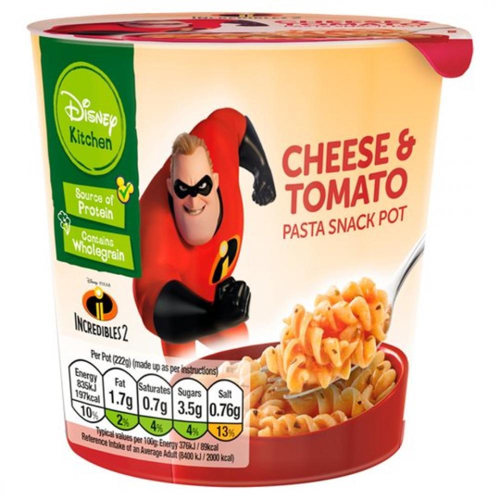 Disney Kitchen Cheese+Tomato Pasta Snack Pot 50g