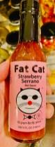 Fat Cat Hot Sauce Strawberry Serrano 148ml