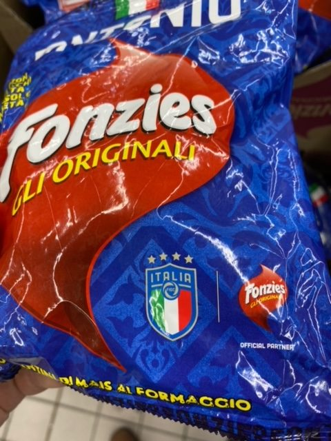 Fonzies Originali Italia Snack