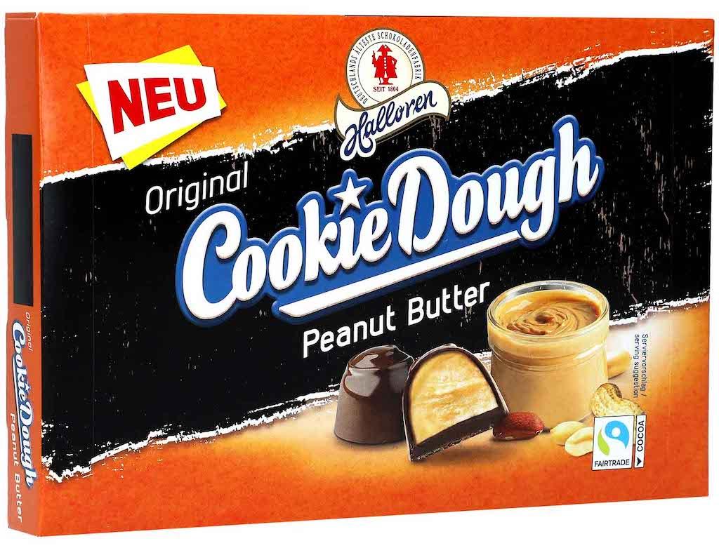 Halloren Cookie Dough Peanut Butter 150g