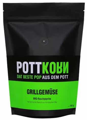Pottkorn Dat beste Pop aus dem Pott Grillgemüse 150G Popcorn