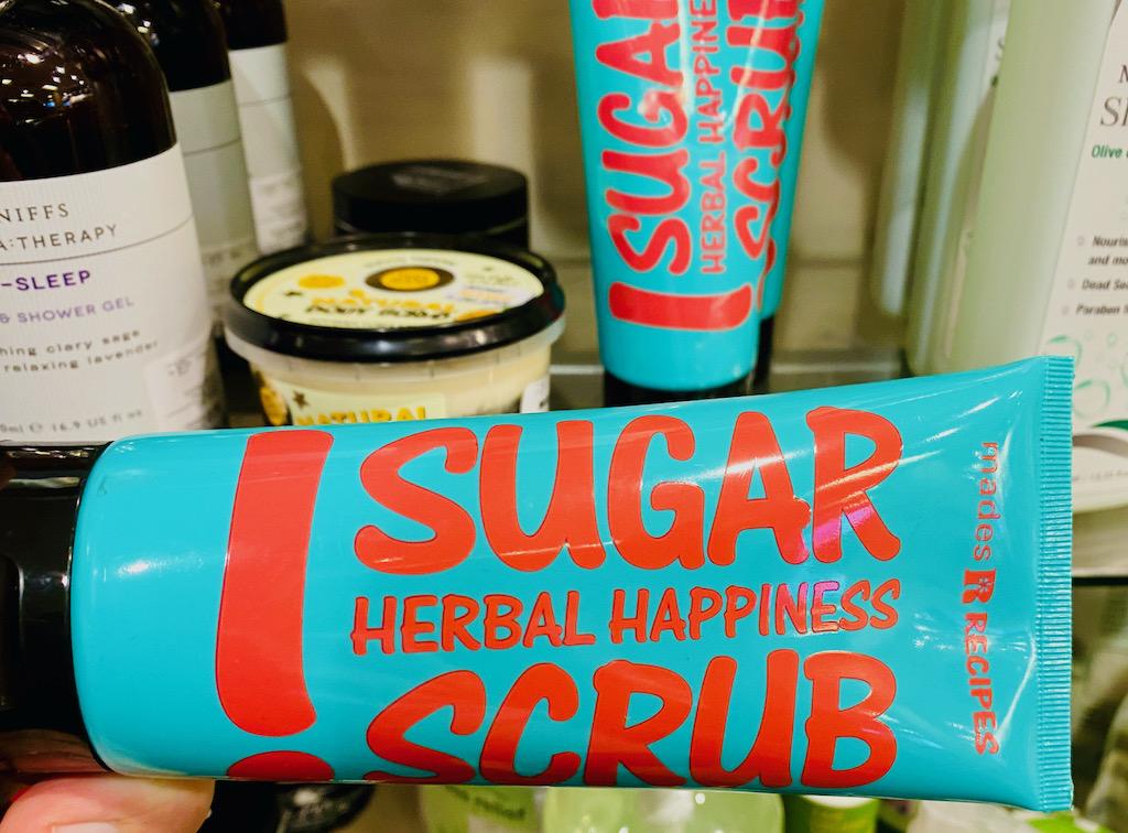 Sugar Scrub Herbal Happiness Peeling