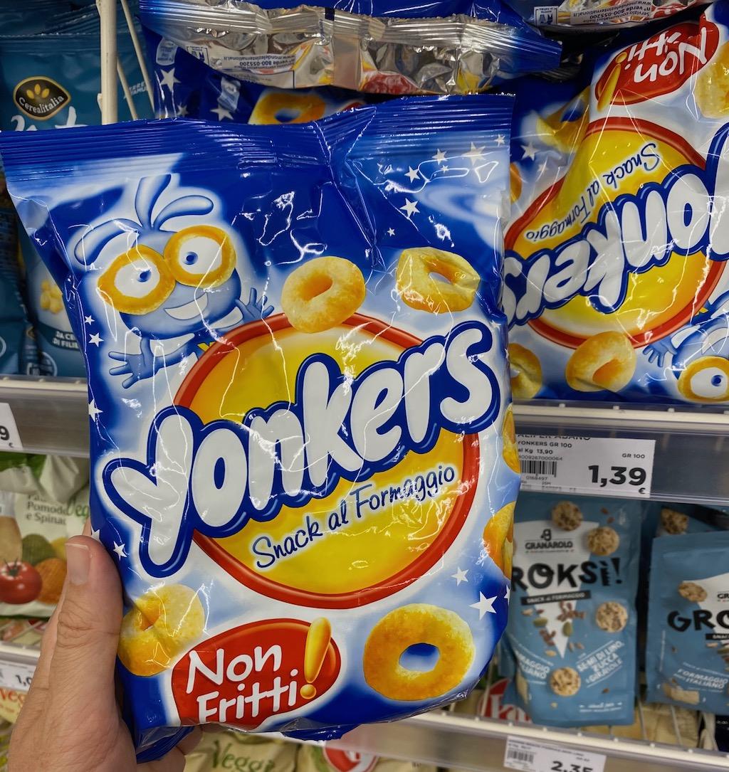Yonkers Snack al Formaggio Non-Fritti