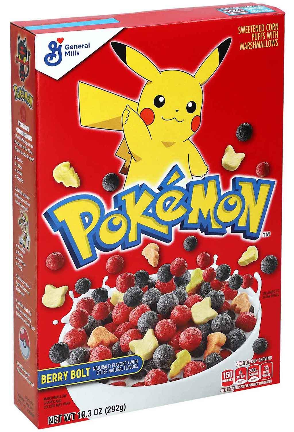 General Mills Pokemon Cereals Berry 292g