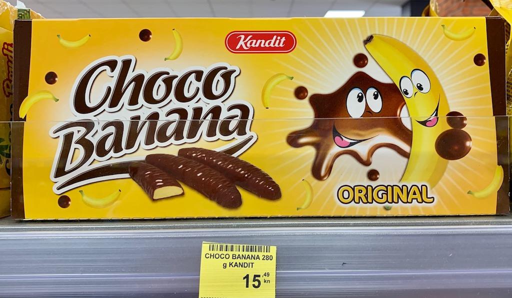 Kandit Choco Banana Kroatien