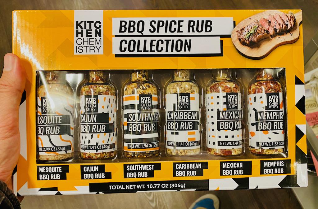 Kitchen Chemistry BBQ Spice Rub Collection Mesquite-Cajun-Southwest-Caribbean-Mexican-Memphis 306G
