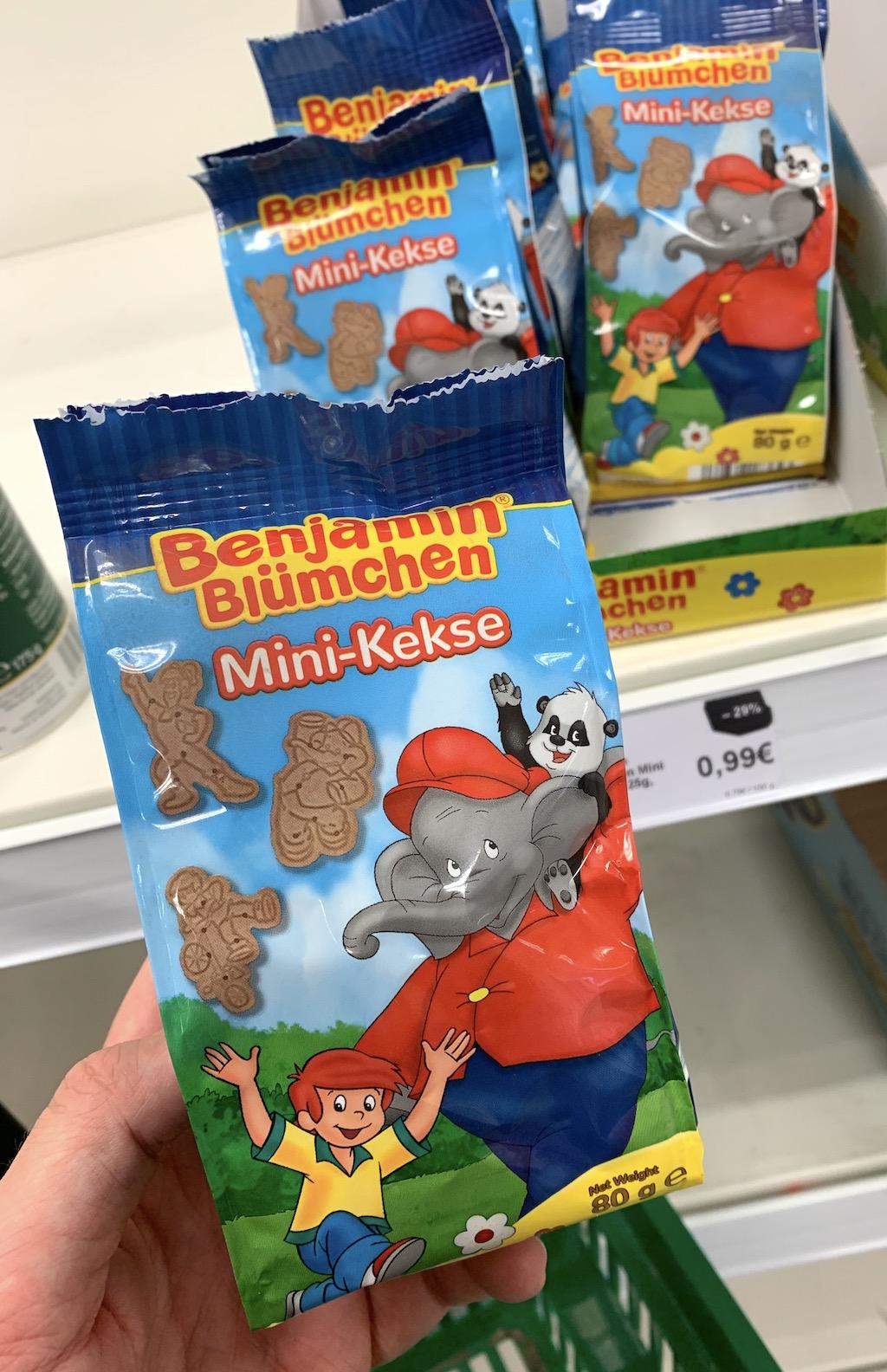 Bejamin Blümchen Mini-Kekse 80G