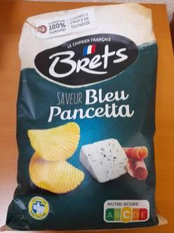 Brets Bleu Pancetta - Blauschimmelkäse-Geschmack Nutri-Score