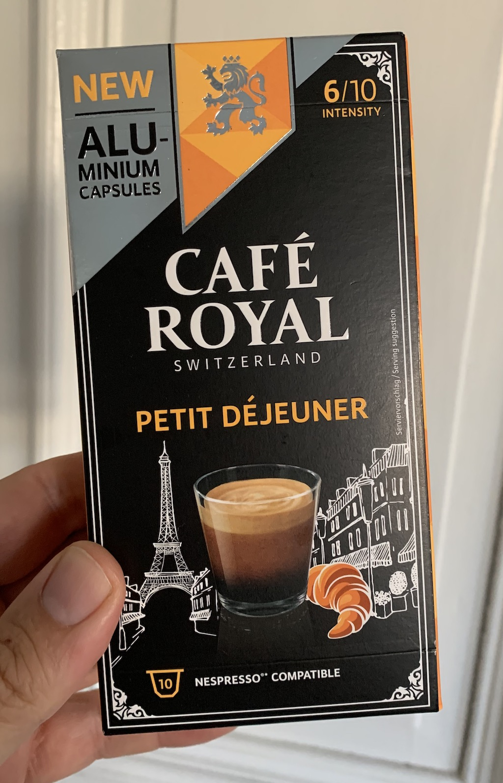 Café Royal Switzerland Petit Dejeuner 10 Kapseln