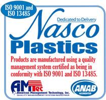 Nasco Plastics ISO Certified