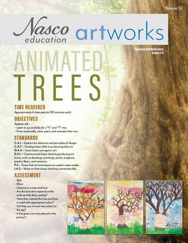 Animated Trees Lesson Plan