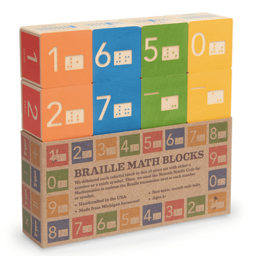 Braille Math Blocks