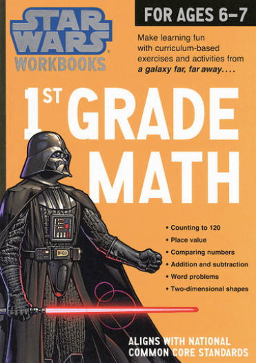 Star Wars® Math Workbook - Grade 1