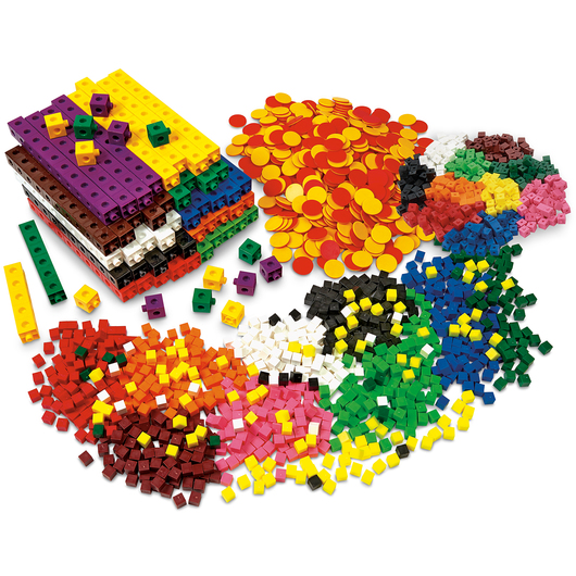 Cubes and Counter Kit - Grades 6-8