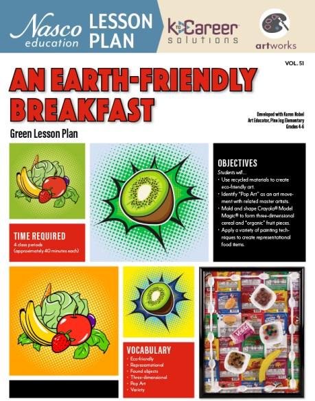 An Earth-Friendly Breakfast lesson plan