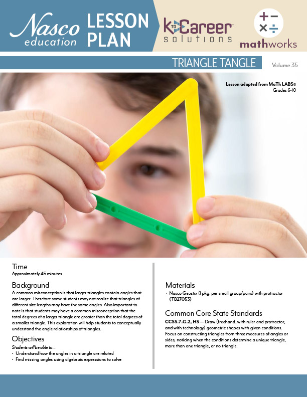 Download the Triangle Tangle Lesson Plan now