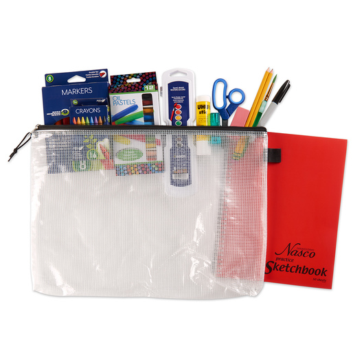 Support your art program with ESSER funds by purchasing the Elementary Student Art Kit with Sketchbook