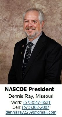 NASCOE President Dennis Ray Photo and Contact Information