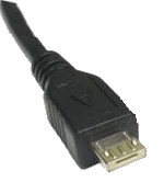 USB Type A Micro Male connection
