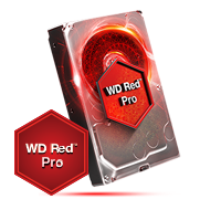WD Red 3.5 Inch NAS PRO