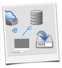 Where should you store your photo and video data
