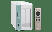 The QNAP TS-251A 2-Bay USB 3.0 DAS and NAS Walkthrough and Talkthrough with SPAN 4