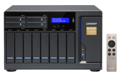 The QNAP TVS-1282T-i7-32G 12-Bay (8+4 Bay) Thunderbolt 2 NAS Unboxing and Walkthrough 5