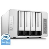 TerraMaster F4-220 NAS Server 4-Bay Intel Dual Core 2.41GHz 2GB RAM Network RAID Storage Enclosure HDD and SSD