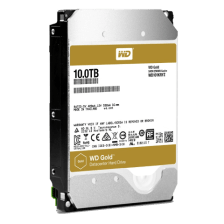WD 10TB WD101KRYZ Speed test with Black Magic