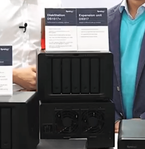 The Synology DS3018xs 6-Bay, FS1018 10-Bay Flash, DX517 5-Bay Expansion and more 1