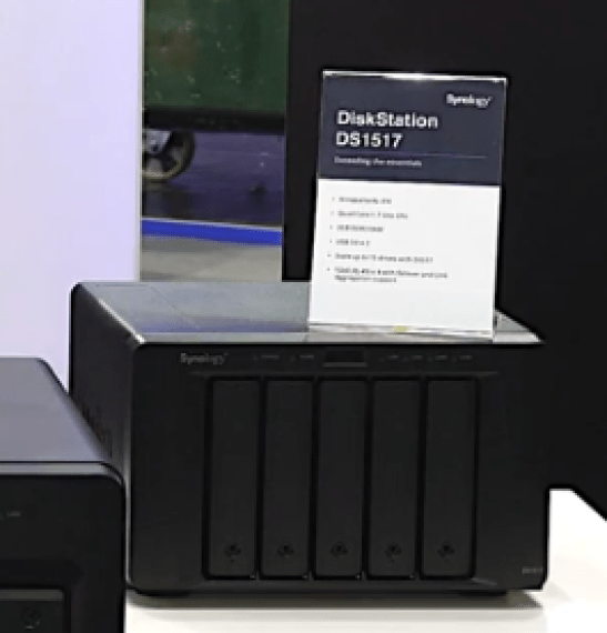 The Synology DS3018xs 6-Bay, FS1018 10-Bay Flash, DX517 5-Bay Expansion and more 9