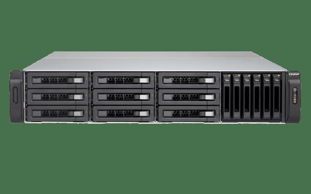 The QNAP TVS-1582TU finally revealled - The Thunderbolt 3 Rackmount NAS 1