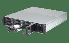 The QNAP TVS-1582TU finally revealled The Thunderbolt 3 Rackmount SSD