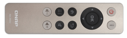 old qnap remote control for NAS via HDMI IR