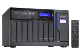 The Optical Media Optimised QNAP TVS-882BRT3 Thunderbolt 3 8-Bay NAS 10