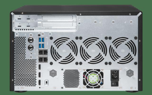 The Optical Media Optimised QNAP TVS-882BRT3 Thunderbolt 3 8-Bay NAS 14