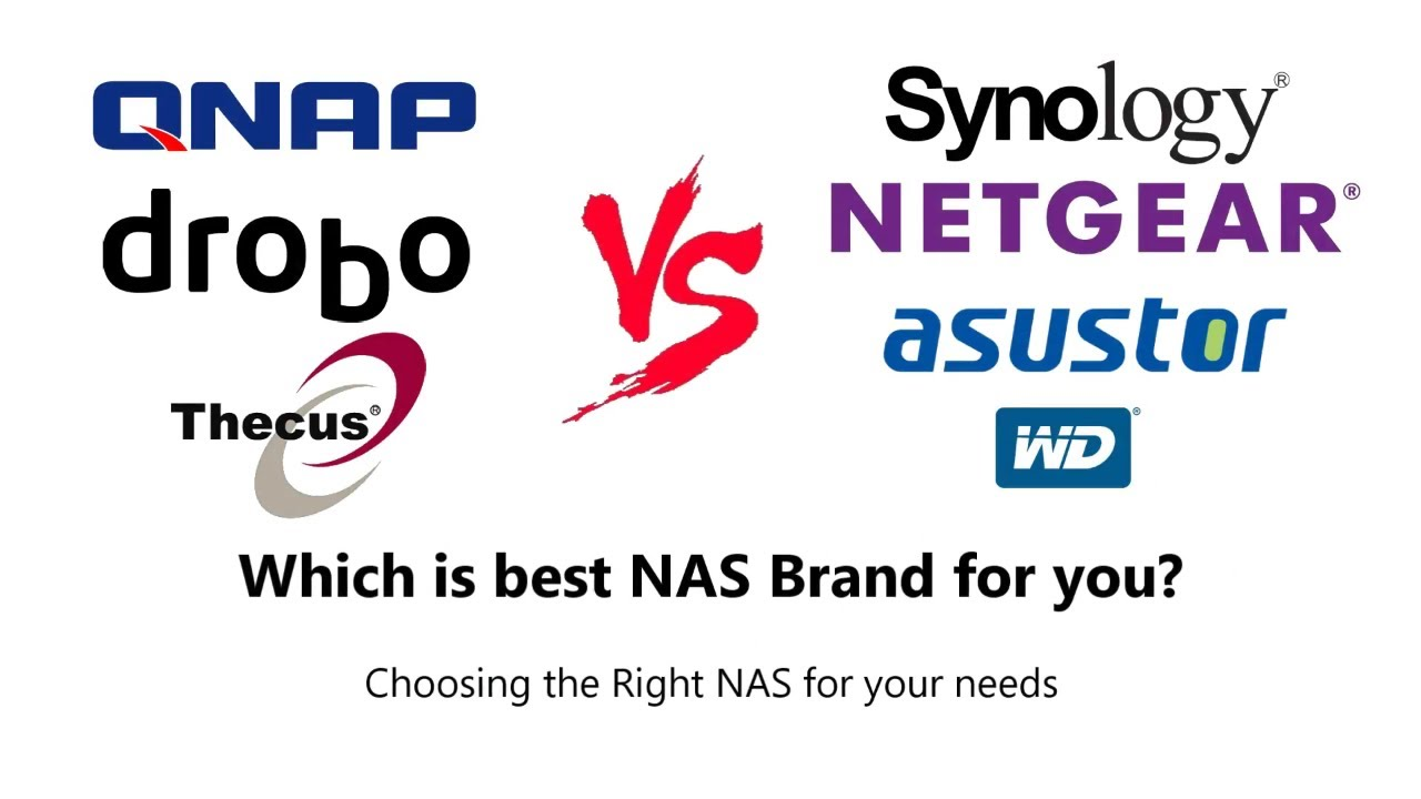 Choosing the Right NAS brand for you - Synology, QNAP, Drobo