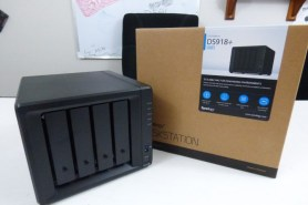 The synology DS918+ Retail Box