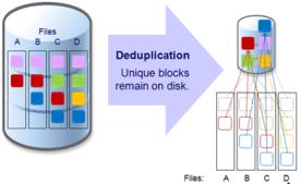 synology deduplication