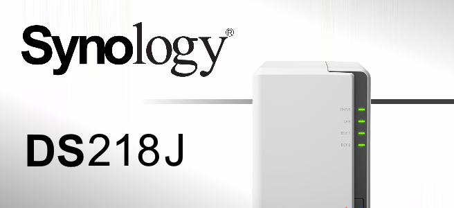 The Brand New Synology DS218j 2-Bay NAS for 2017 and 2018