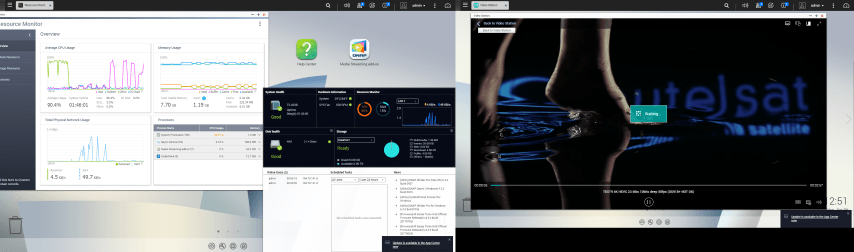 QNAP TS-453B NAS Transcode 4K and 1080p Performance Test featuring H