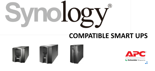 Synology with a Smart ups - connect, manage, shut down