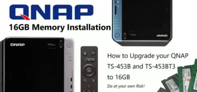QNAP TS-453B NAS 16GB Memory - An installation Guide - NAS Compares