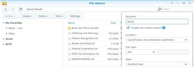 Synology NAS Software Guide – Part 4 – Access by LAN, FTP